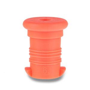 Náhradní zátka na Zdravou lahev, oranžová fluo
