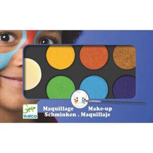 Obličejové barvy - základní