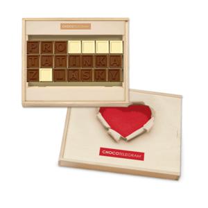 Chocolissimo - Čokoládový dárek pro tátu - z lásky