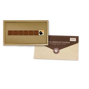 Chocolissimo - Čokoládový telegram na Halloween - Boooo