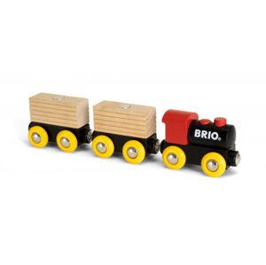 Brio - Vláček se 2 vagonky