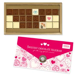 Chocolissimo - Čokoládová žádost o ruku (anglicky)