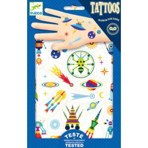 Tetování - vesmír