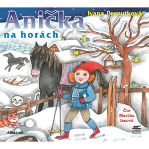 Anička na horách –  audiokniha na mp3 CD
