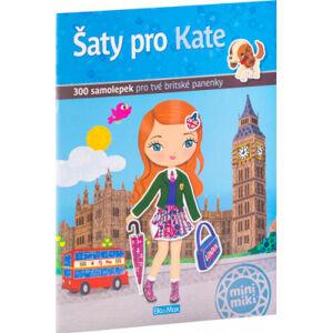 Šaty pro Kate - kniha samolepek