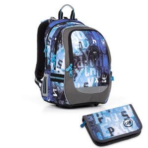 Školní batoh a penál Topgal - CODA17006 B + PENN17006 B