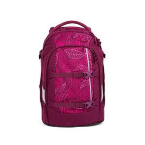 Studentský batoh Ergobag Satch - Purple Leaves