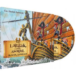 Lapuťák a kapitán Adorabl - audiokniha na CDmp3