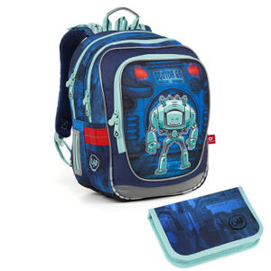 Školní batoh a penál Topgal ENDY 18047 B