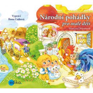Národní pohádky pro malé děti - audiokniha na CD