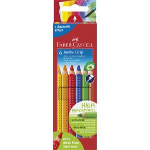 Pastelky Faber-Castell Jumbo Grip - 6 barev