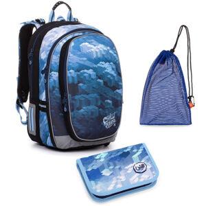 Školní set Topgal MIRA 20018 B batoh + penál + pytlík na přezůvky