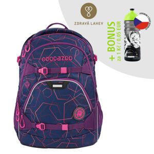 Školní batoh coocazoo ScaleRale, Laserbeam Plum + lahev za 1 Kč
