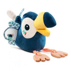 Lilliputiens - tukan Pablo - plyšová hračka s aktivitami