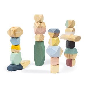 Sweet Cocoon - Dřevěné kameny - 20 ks