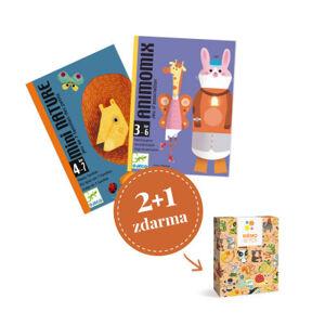 Balíček karetních her pro nejmenší - Zvířecí balíček pro tříleťáky
