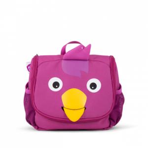 Dětská kosmetická taštička Affenzahn Bird - Purple
