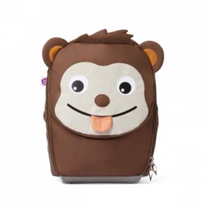 Dětský cestovní kufřík Affenzahn Monkey - Brown