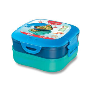 Velký svačinový box Maped Picnik Concept Kids modrý, 1,4 l