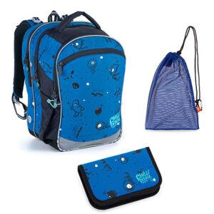 Školní set Topgal COCO 21017 B batoh + penál + pytlík na přezůvky