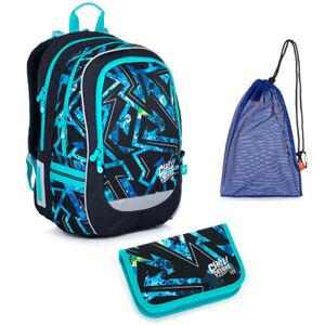 Školní set Topgal CODA 21020 B batoh + penál + pytlík na přezůvky