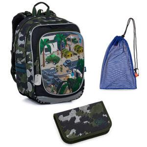 Školní set Topgal ENDY 21016 B  batoh + penál + pytlík na přezůvky
