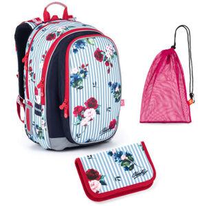 Školní set Topgal MIRA 21008 G - batoh + penál + pytlík na přezůvky