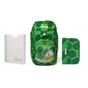 Školní set Ergobag prime Football - batoh + penál + desky