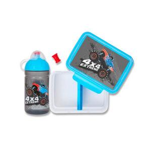 Set Zdravá lahev 0,5 l a Zdravá sváča - Monster Truck