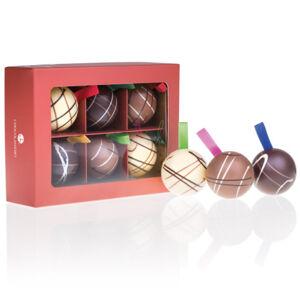 Chocolissimo - 6 Čokoládových vánočních ozdob 150 g