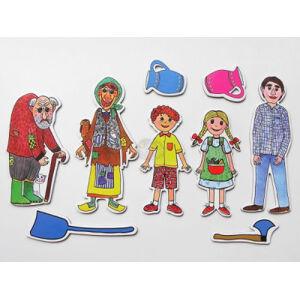 Marionetino - Loutkový balíček bez tyček - Perníková chaloupka