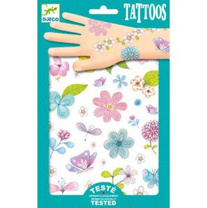 Tetování - rozkvetlá louka