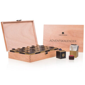 Chocolissimo - Adventní kalendář v kufříku s nealkoholickými pralinkami 288 g
