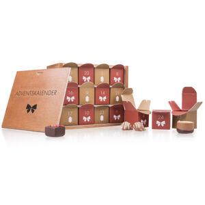 Chocolissimo - Adventní kalendář v dřevěné škatuli - pralinky bez alkoholu 270 g