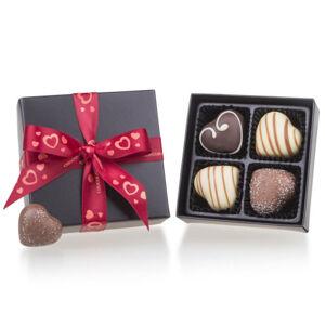 Chocolissimo - ChocoHeart - bonboniéra s pralinkami pro zamilované 50 g