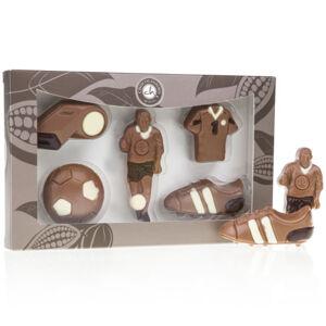 Chocolissimo - Dárek pro sportovce - fotbalové figurky 100 g