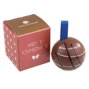 Chocolissimo - Vánoční ozdoba z mléčné čokolády - 1ks 25 g