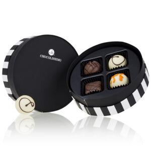 Chocolissimo - Půvabná kulatá bonboniérka mini 50 g