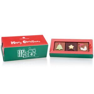 Chocolissimo - Šuplík s 12 čokoládových neapolitánek 90 g