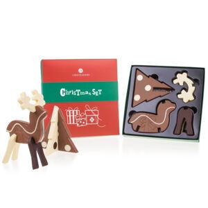 Chocolissimo - Čokoládové puzzle 3D - sob a stromeček 200 g