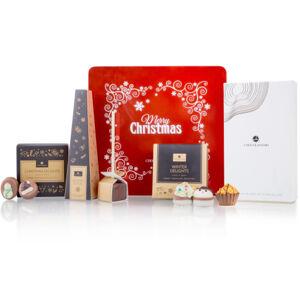 Chocolissimo - Čokoládové dárky v vánoční plechové dóze 310 g