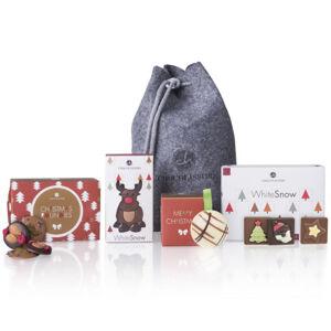 Chocolissimo - Sada čokoládových dárků ve filcovém sáčku 175 g