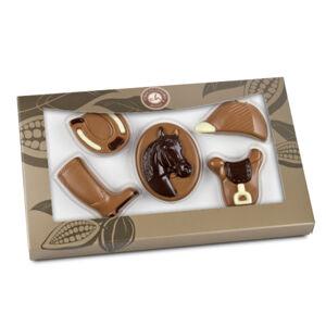 Chocolissimo - Čokoládové figurky pro jezdce 100 g
